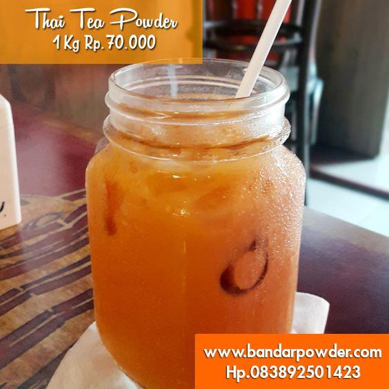 Toko Jual Serbuk Thai Tea di Tangerang
