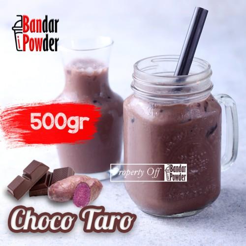 Choco Taro Jual Bubuk Minuman Coklat Bandar Powder 500gr - Bandar Powder