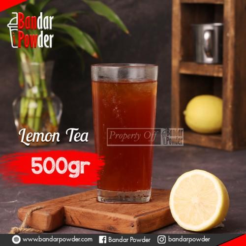 LEMON TEA JUAL BUBUK MINUMAN BANDAR POWDER 500GR - Bandar Powder