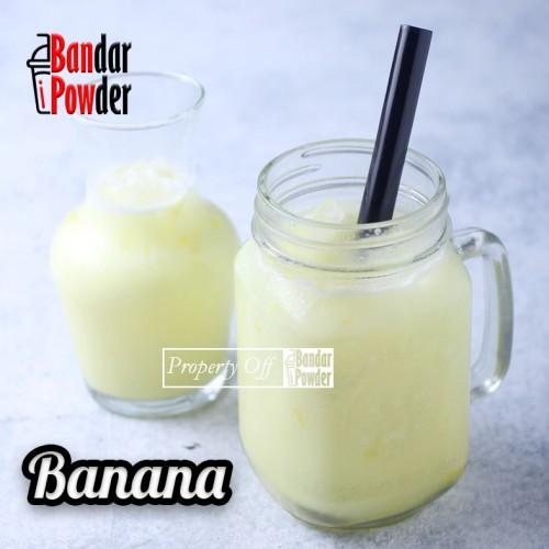 banana bubuk minuman rasa buah aneka rasa bandar powder - Bandar Powder