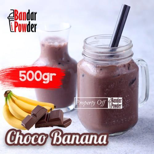 choco banana 500gr Jual Bubuk Minuman Coklat Bandar Powder - Bandar Powder