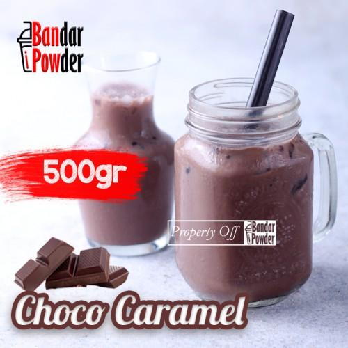 choco caramel 500gr bandar powder jual bubuk coklat minuman enak terlaris - Bandar Powder