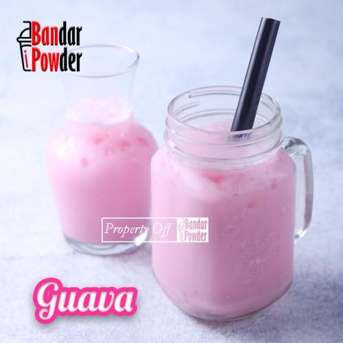 guava bubuk minuman rasa buah aneka rasa bandar powder copy copy - Bandar Powder