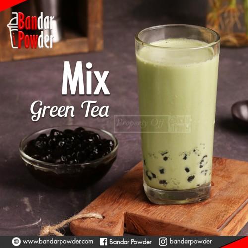 jual bubuk green tea mix powder termurah di indonesia jakarta tangerang bandung depok semarang jawa tengah jogja bekasi surabaya makassar - Bandar Powder