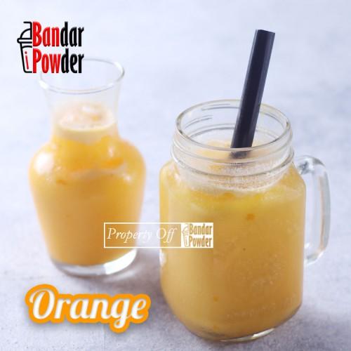 Jual orange bubuk minuman rasa buah aneka rasa bandar powder - Bandar Powder